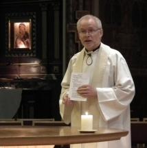 Fr Steven in St Patrick's Hove